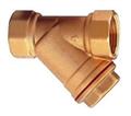 青铜丝扣过滤器,G11W青铜Y型过滤器